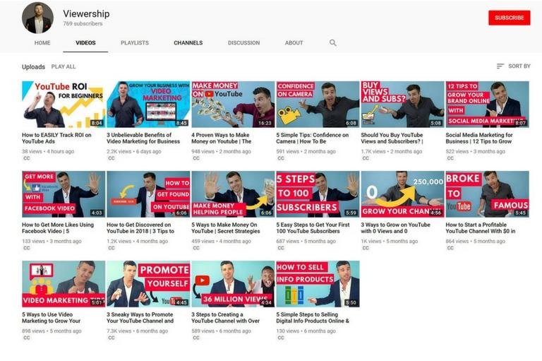 YouTube SEO video thumbnails