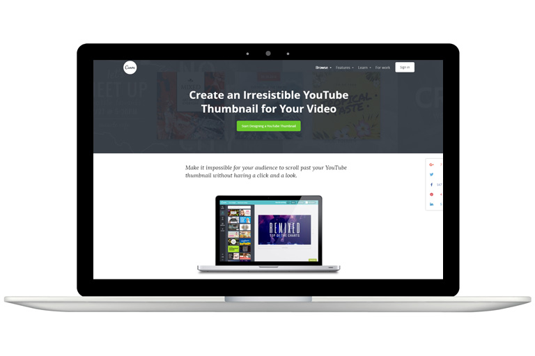 How to create YouTube thumbnails – Canva thumbnail maker