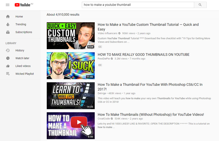 How to create YouTube thumbnails – check out the competition