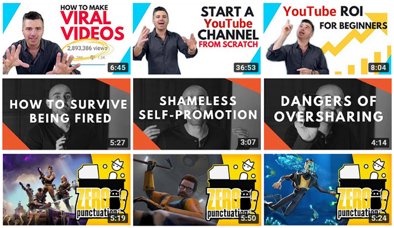 How to create YouTube thumbnails – consistent brand in thumbnails