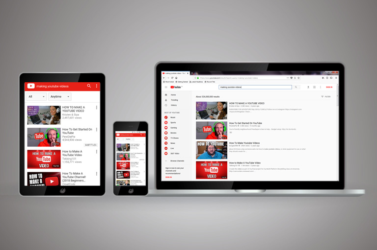 How to create YouTube thumbnails – optimize for all devices